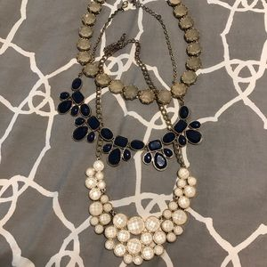 3 FOR 1 Statement Necklaces